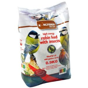 High Energy Robin Feed With Insects For Garden Birds Bag Kingfisher Bird Care 900g
